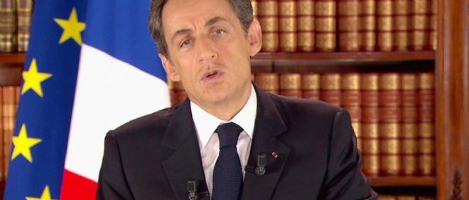 Nicolas Sarkozy s'est exprimé dimanche soir pendant près de sept minutes, annonçant notamment l'arrivée d'Alain Juppé au Quai d'Orsay, en remplacement de MAM