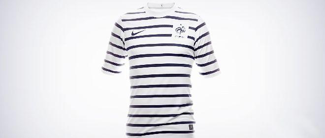 La marinière, nouveau maillot de l'équipe de France de ...