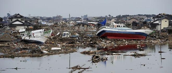 La cité portuaire de Sendai a été l'une des plus touchées par le séisme et le tsunami.