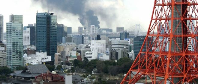 Les immeubles de Tokyo se sont déformés mais aucun ne s'est effondré.