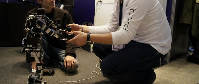 Acroban, robot humanoïde développé par l'Inria, s'inspire de la nature dans sa forme et dans son fonctionnement.
