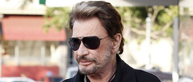 Johnny Hallyday a Los Angeles en janvier 2010.
