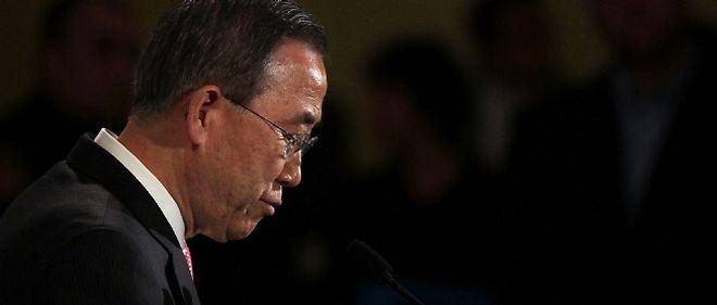 Ban Ki-moon est le secrétaire général de l'ONU