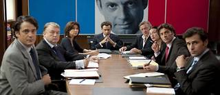 Le film sur l'ascension de Nicolas Sarkozy (La conquête) sera présenté au festival de Cannes. ©Allociné