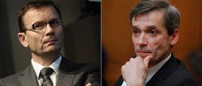 Patrick Pélata et Bertrand Rochette