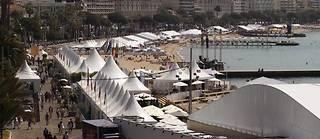 La Croisette est prête à accueillir le 64ème Festival de Cannes. ©Guillaume Baptiste