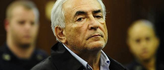Dominique Strauss-Kahn au tribunal de New York, lundi