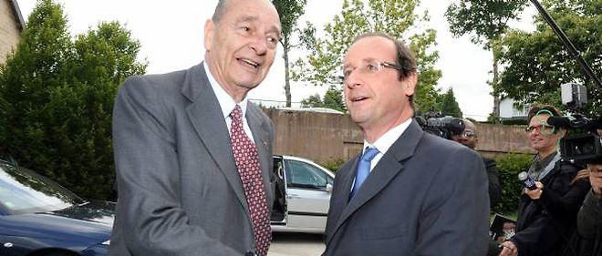 Jacques Chirac a affirmé ce week-end qu'il voterait pour le socialiste François Hollande à la présidentielle.