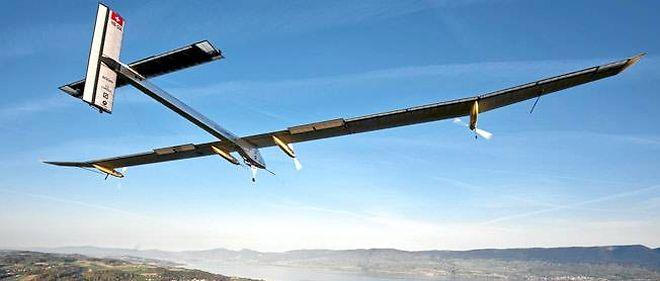 Le Solar Impulse, le nouvel avion solaire.