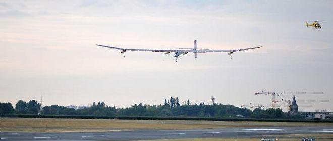Le Solar Impulse a réussi à décoller et à atterrir.