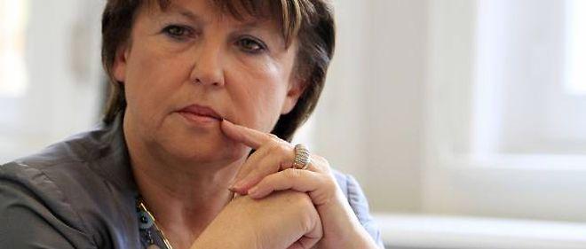 Martine Aubry est candidate à la primaire socialiste.