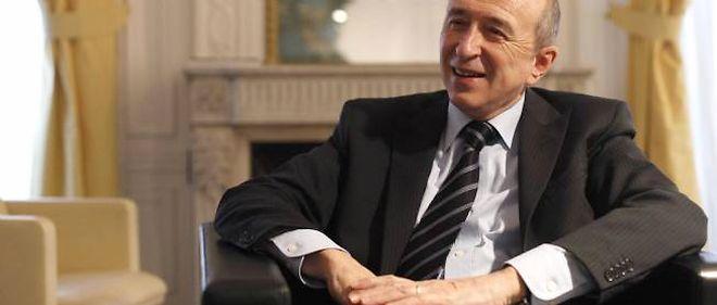 Le sénateur-maire de Lyon Gérard Collomb