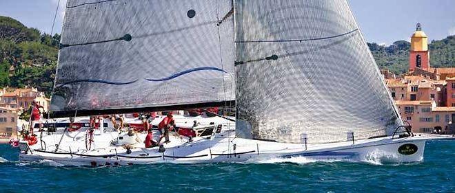 """Depuis bientôt 60 ans, la prestigieuse course réunit à Saint-Tropez des voiliers parmi les plus beaux (ici, """"Wild Joe"""", 18 mètres)."""