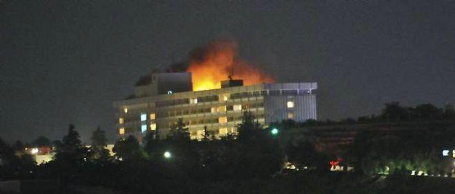 L'hôtel Intercontinental de Kaboul a été la cible d'une attaque le 29 juin.