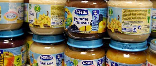 Seul le lot de P'tit Pot pour bébés à la banane rappelé par Nestlé mercredi présenterait des risques.