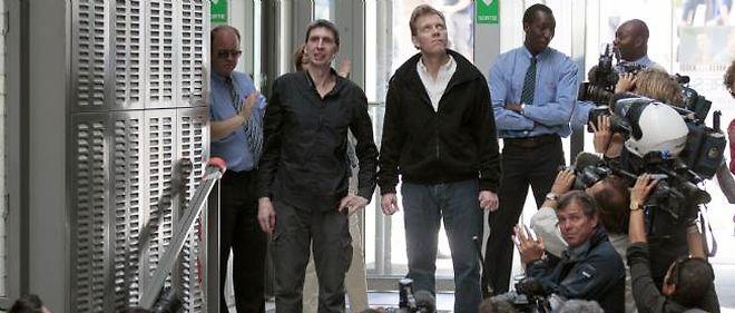 Stéphane Taponier et Hervé Ghesquière ont été libérés mercredi après 18 mois de captivité en Afghanistan.