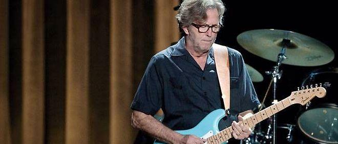Eric Clapton, guitariste virtuose.