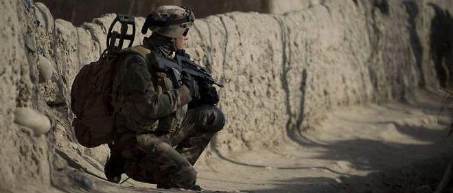Soldat français en Afghanistan.