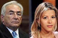 Tristan Banon accuse l'ancien directeur général du FMI de l'avoir violé.   ©Montage Le Point.fr