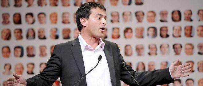 """Manuel Valls a le sentiment que """"certains voudraient qu'il n'y ait pas de match"""" lors de la primaire PS."""