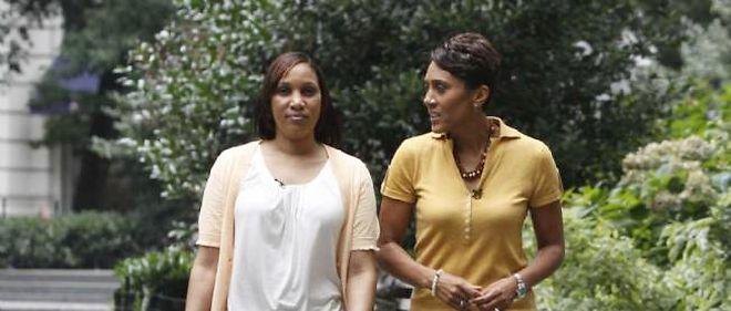 Les avocats de DSK ont immédiatement répliqué au témoignage de la femme de chambre (à gauche sur la photo) dans la presse.