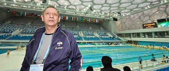 Claude Fauquet, lors des Jeux olympiques de Pékin en 2008.
