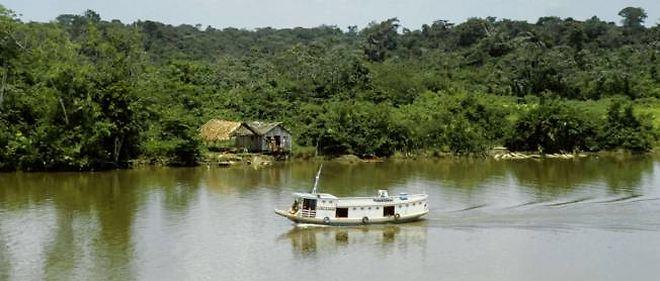 La vitesse des eaux de l'Amazone est supérieure à celle du fleuve souterrain.