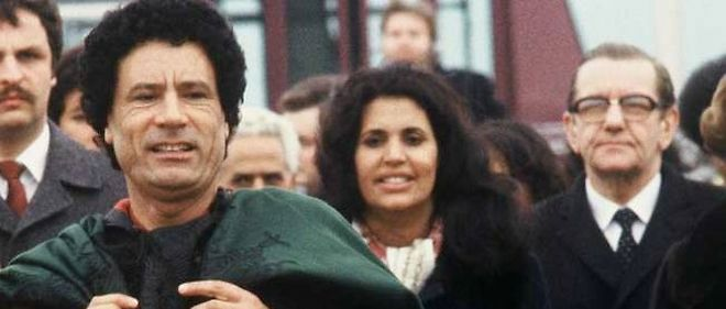 Sofia Khadafi, l'épouse du dirigeant libyen, a quitté la Libye.
