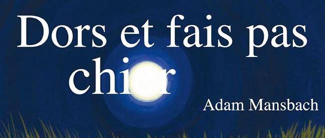 Première de couverture de la version française du livre, à paraître le 2 novembre chez Grasset.