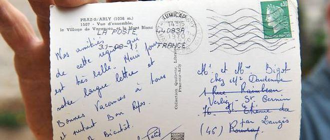 Une Carte Postale Arrive 41 Ans Apres Son Envoi Le Point