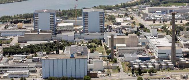 Le site nucléaire de Marcoule.