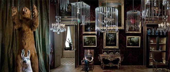 Les oeuvres (sculptures, gravures, peintures...) de Françoise Pétrovitch envahissent les collections du musée de la Chasse et de la Nature jusqu'au 8 janvier 2012.