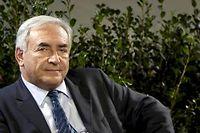 Dominique Strauss-Kahn est visé depuis début juillet par une plainte pour une tentative de viol sur Tristane Banon en février 2003.  ©Alexander Klein