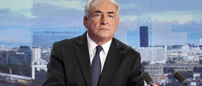Dominique Strauss-Kahn, dimanche soir sur TF1.