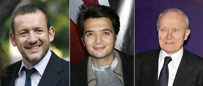 Dany Boon, Thomas Langmann et Jérôme Seydoux.