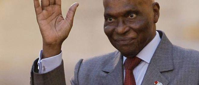 Le président sénégalais, Abdoulaye Wade.