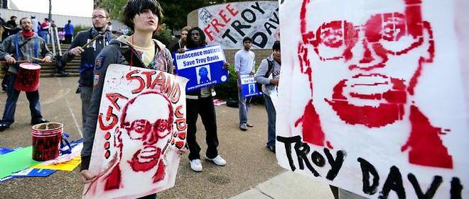 Troy Davis, qui vient de passer 20 ans dans les couloirs de la mort, est devenu le symbole du combat contre la peine capitale aux États-Unis.