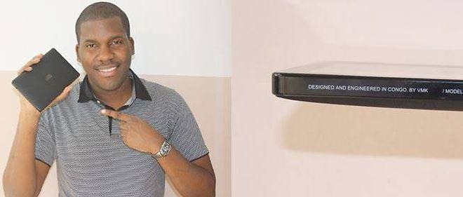 Verone Mankou est le créateur de la première tablette africaine.