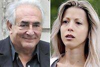 La confrontation entre DSK et Tristane Banon a lieu jeudi à la brigade financière. ©Montage Le Point.fr