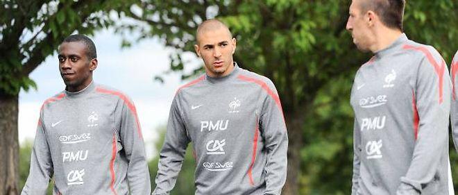 Blaise Matuidi, Karim Benzema et Franck Ribéry sont forfait pour les matchs des Bleus.