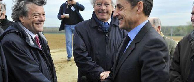 Jean-Louis Borloo aurait pu constituer une réserve de voix pour Nicolas Sarkozy au second tour.