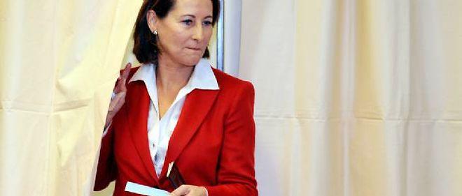 Ségolène Royal a voté à Melle, dans les Deux-Sèvres.