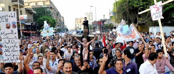 La manifestation du 9 octobre se voulait pacifique, mais elle s'est terminée par un affrontement meurtrier.