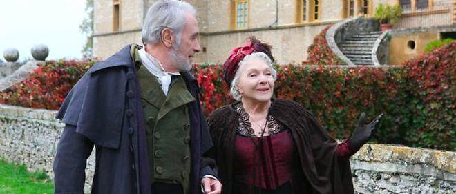 """Bernard Le Coq et Line Renaud, dans le téléfilm """"Isabelle disparue"""", sur France 3, samedi."""