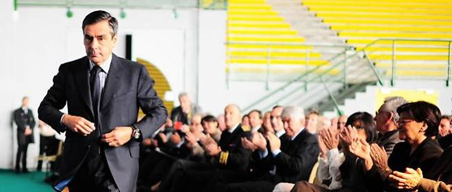 Le Premier ministre François Fillon marche vers les législatives.