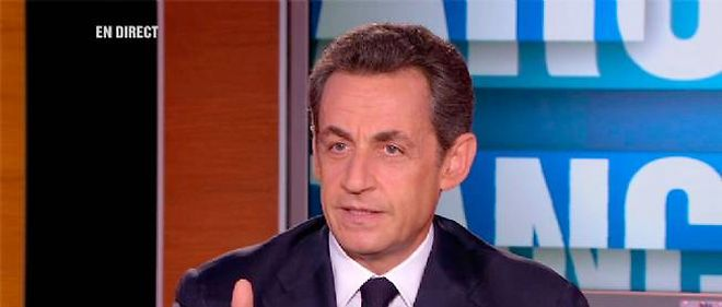 Nicolas Sarkozy n'a pas accordé d'interview télévisée depuis février 2011.