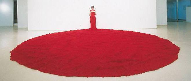 """""""Whispers"""" (2004), de Nelly Agassi - Galerie Dvir, Tel-Aviv (Grand Palais, nef, standA04)."""