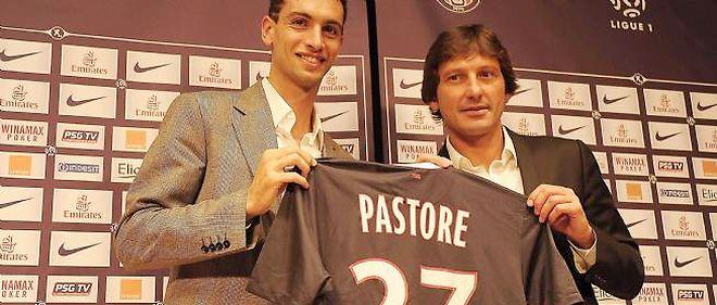 Javier Pastore (à gauche) a rejoint le Paris Saint-Germain l'été dernier pour 42 millions d'euros.