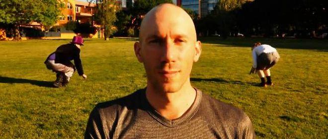 Le grand gagnant Joel Miller, de l'université de Perth en Australie.