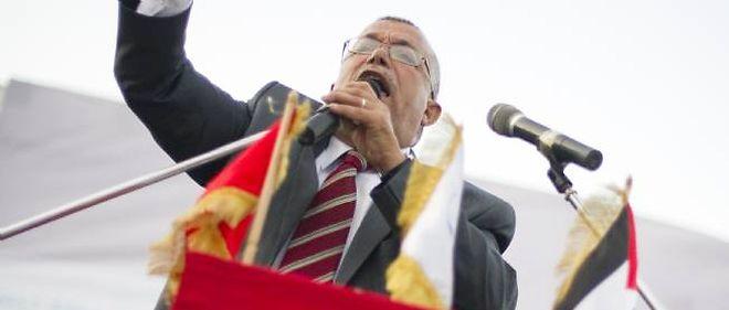 Nouredinne Bhiri, le dirigeant d'Ennahda.